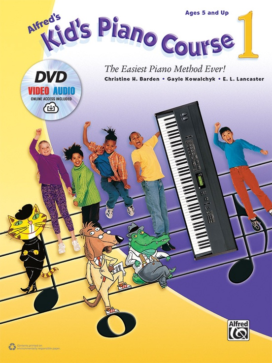 Alfred's Kid's Piano Course 1