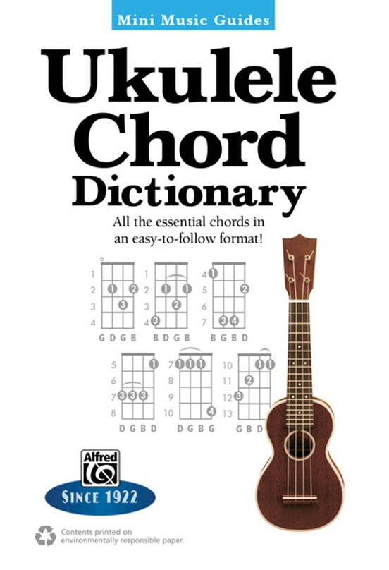 Mini Music Guides: Ukulele Chord Dictionary