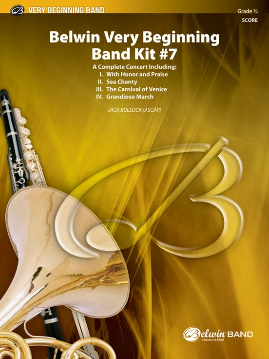 Belwin Very Beginning Band Kit #7