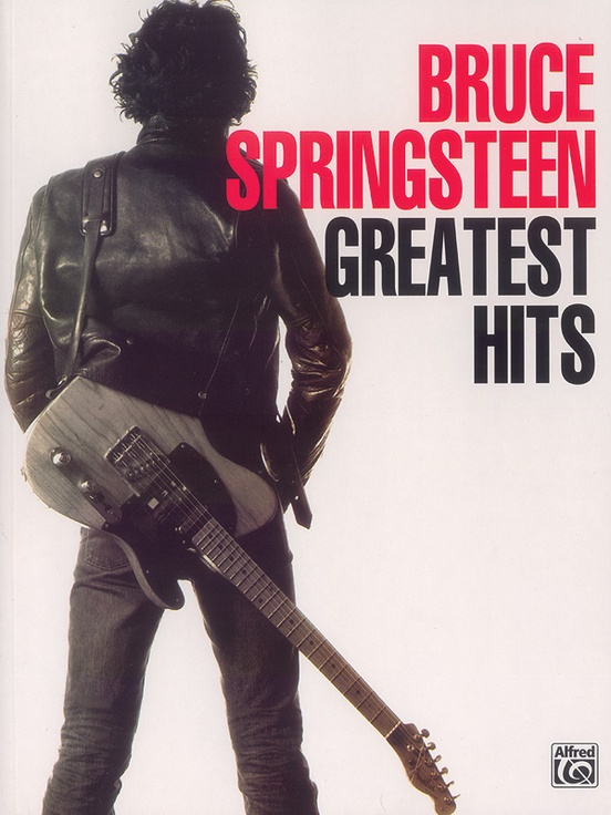 Bruce Springsteen Greatest Hits Pianovocalchords Book Bruce