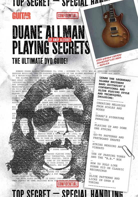 Guitar World: Duane Allman Playing Secrets