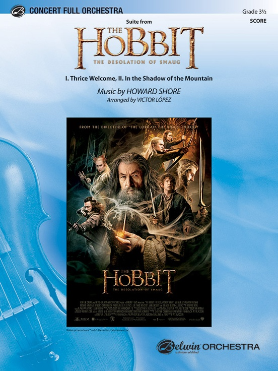 The Hobbit: The Desolation of Smaug, Suite from