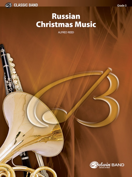 Russian Christmas Music: Concert Band Conductor Score & Parts ...