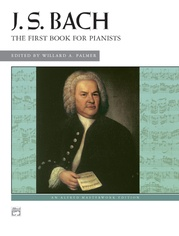 J. S. Bach, First Book for Pianists