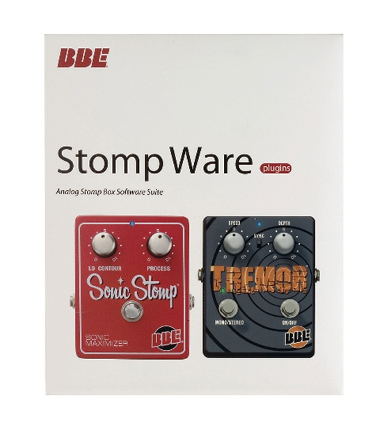 BBE Stomp Ware Guitar Effects Pedal Plug-Ins Software