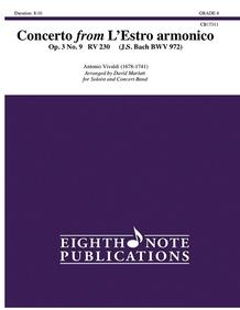 Concerto from L'Estro armonico