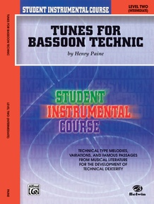 Student Instrumental Course: Tunes for Bassoon Technic, Level II