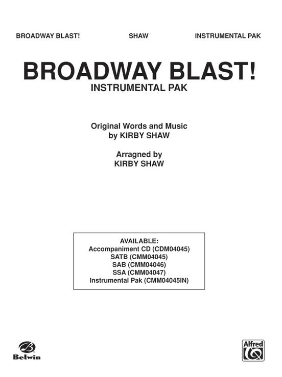 Broadway Blast! (A Medley)