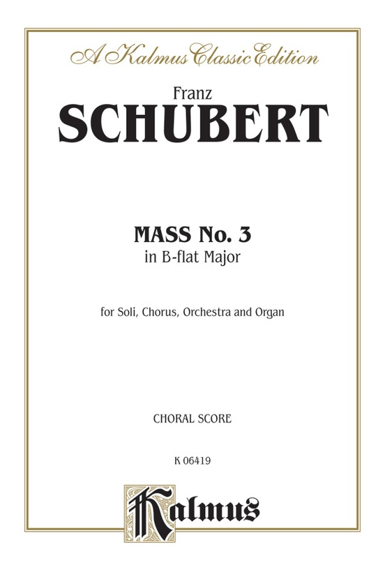 Mass No. 3 in B-flat Major