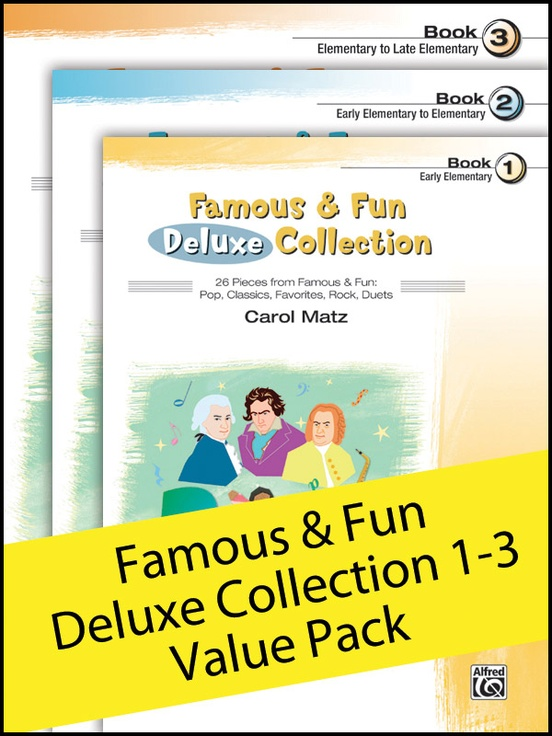 Famous & Fun Deluxe Collection 1-3 (Value Pack)
