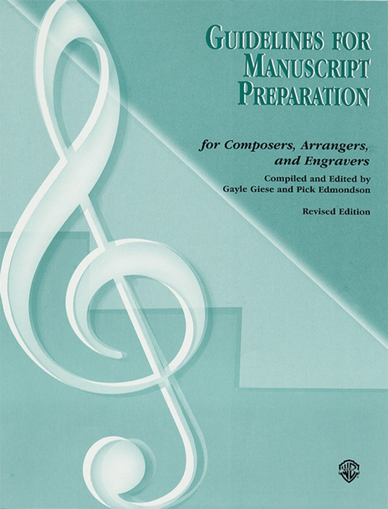Guidelines for Manuscript Preparation (Revised 2002)