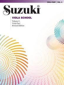 Suzuki Viola School Viola Part, Volume 6 (Revised)