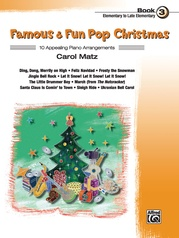 Famous & Fun Pop Christmas, Book 3