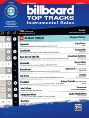 Billboard Top Tracks Instrumental Solos