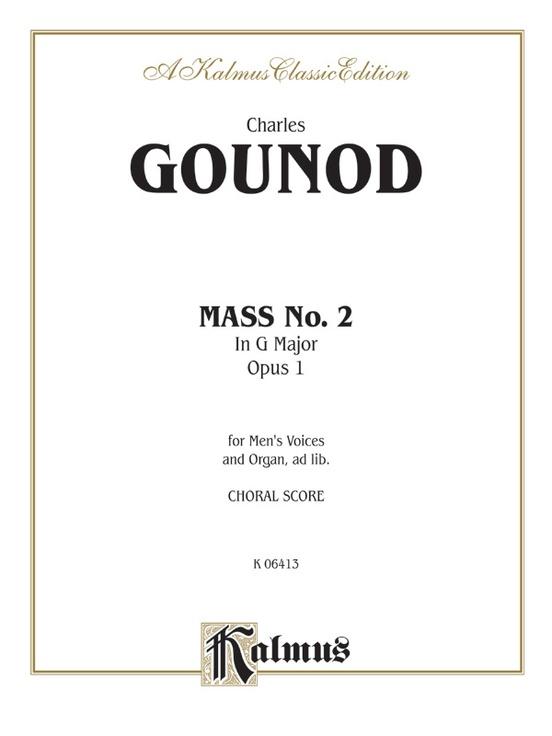 Mass No. 2 in G Major, Opus 1