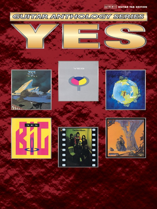 Yes: Guitar Anthology Series