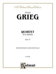 String Quartet, Opus 27