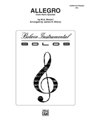 Allegro from Mozart's Horn Quintet