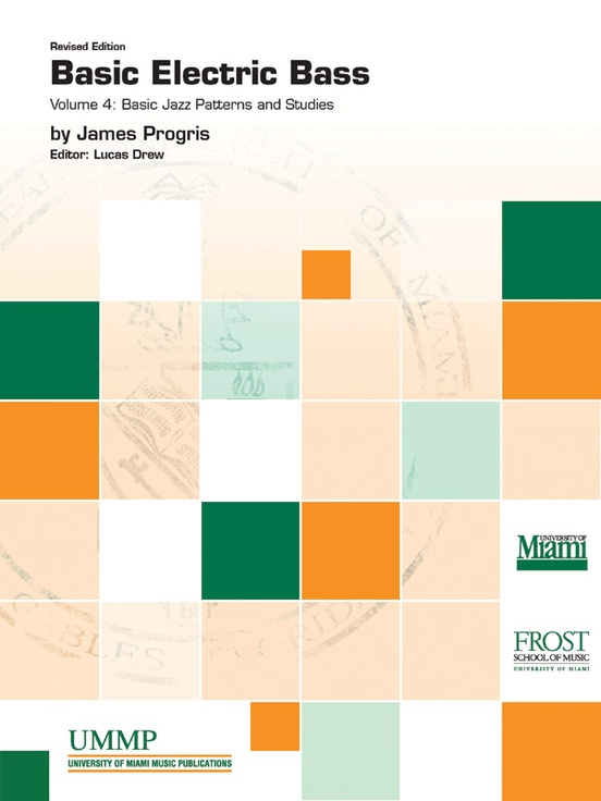 Basic Electric Bass, Volume IV: Basic Jazz Patterns and Studies