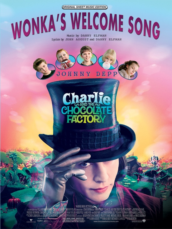 Wonkas Welcome Song From Charlie And The Chocolate Factory Piano