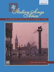 26 Italian Songs and Arias
