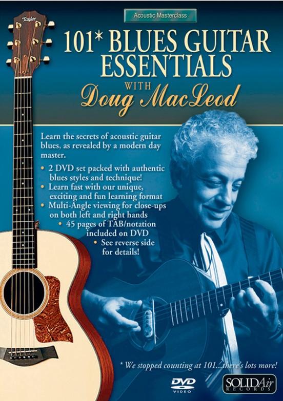 Acoustic Masterclass Series: Doug MacLeod -- 101 Blues Guitar Essentials