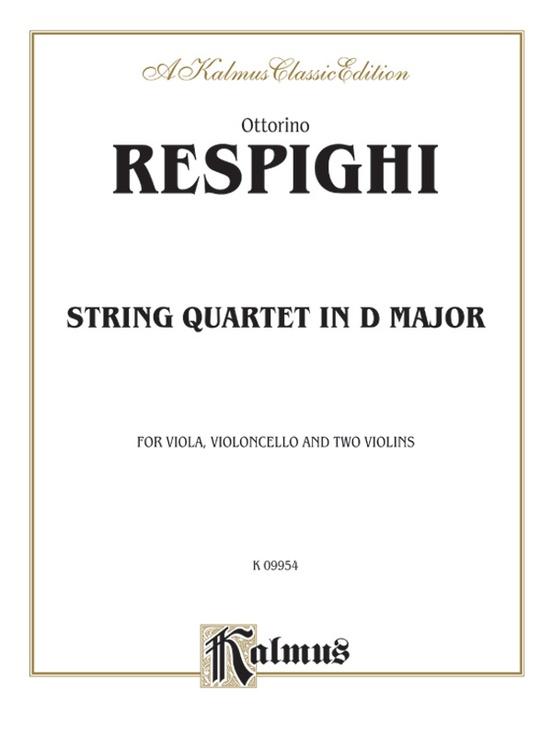 String Quartet in D Major (1907)