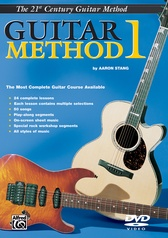 Belwin's 21st Century Guitar Method 1 DVD