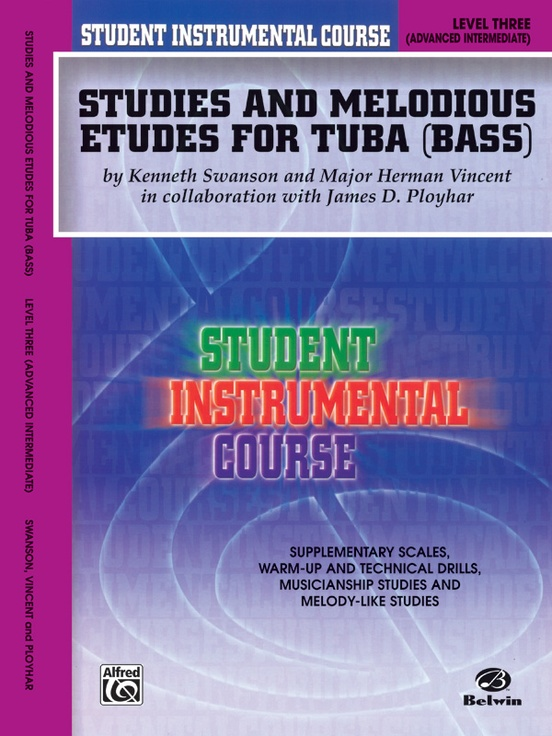 Student Instrumental Course: Studies and Melodious Etudes for Tuba, Level III