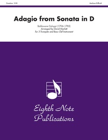 Adagio (from<I> Sonata in D</I>)
