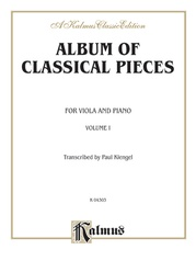 Album of Classical Pieces, Volume I