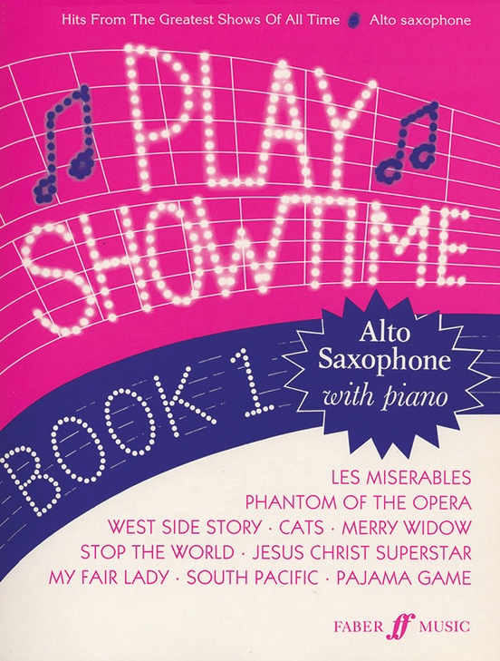 Play Showtime for Alto Saxophone, Book 1