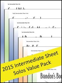 Intermediate Sheet Solos 2015 (Value Pack)
