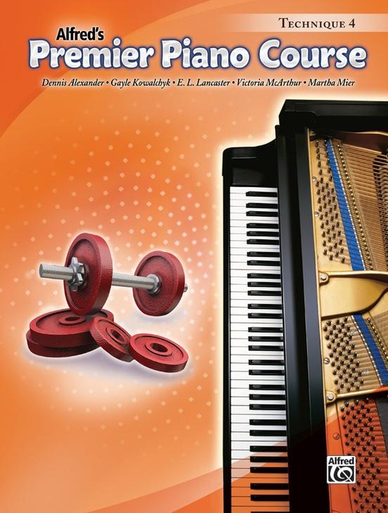 Premier Piano Course, Technique 4