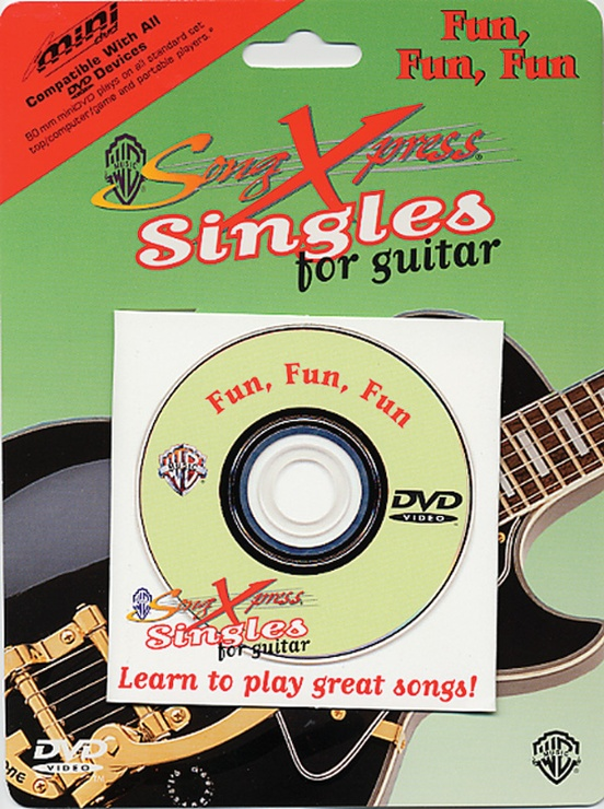 SongXpress® Singles for Guitar: Fun, Fun, Fun