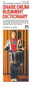 Snare Drum Rudiment Dictionary