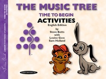 The Music Tree: English Edition Activities Book, Time to Begin
