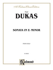 Sonata in E-flat Minor