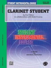 Student Instrumental Course: Clarinet Student, Level I