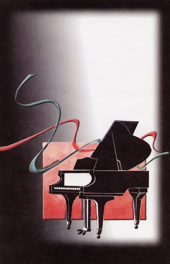 Schaum Recital Programs (Blank) #18: Piano with Ribbons