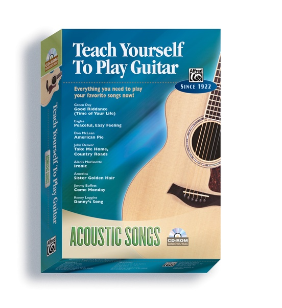 Alfred's Teach Yourself to Play Guitar: Acoustic Songs