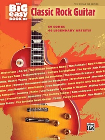 The Big Easy Book of Classic Rock Guitar