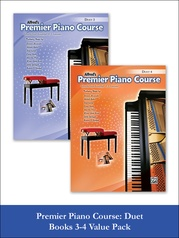 Premier Piano Course Duet 3 & 4 (Value Pack)