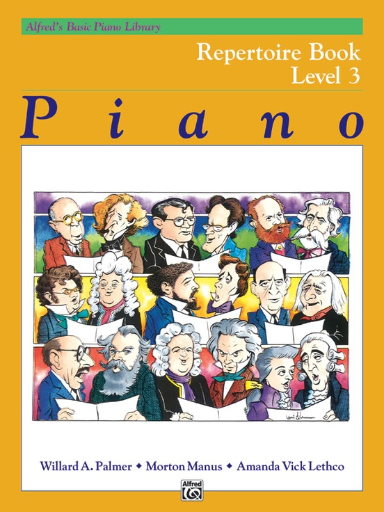 Alfred's Basic Piano Library: Repertoire Book 3