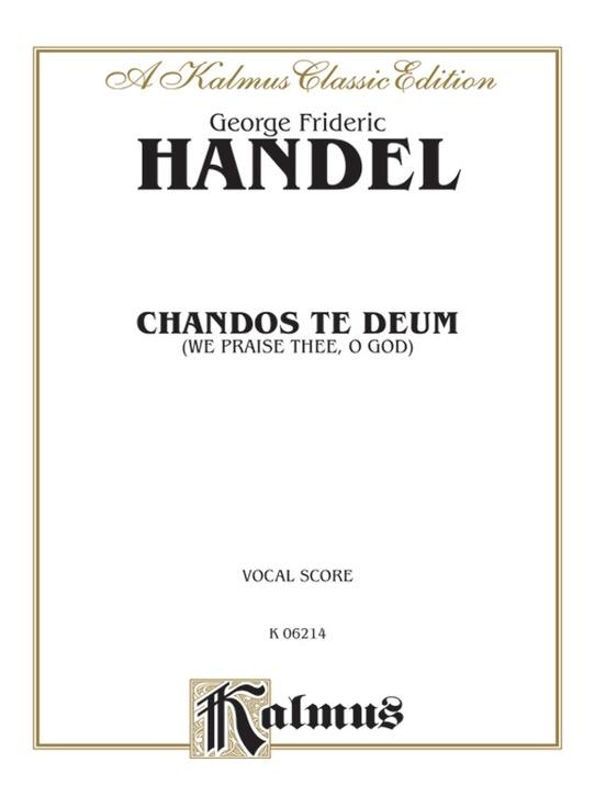 Chandos Te Deum
