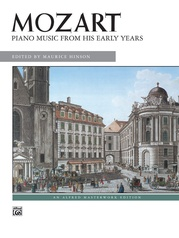 Mozart: Piano Music from His Early Years