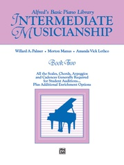 Alfred's Basic Piano Library Musicianship Book Two: Intermediate Musicianship