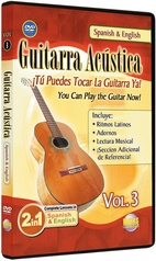 2 in 1 Bilingual: Guitarra Acústica Vol. 3