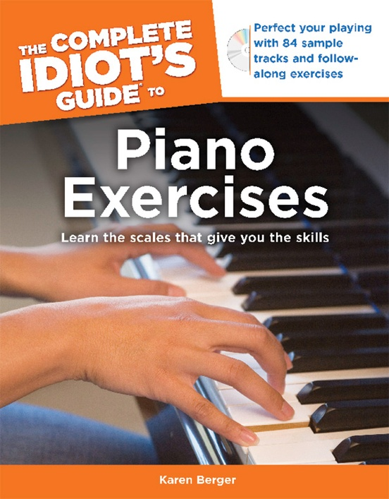 The Complete Idiot S Guide To Piano Exercises Piano Book