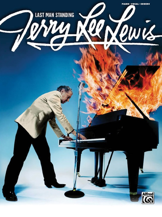 Jerry Lee Lewis Last Man Standing Pianovocalchords Book Jerry